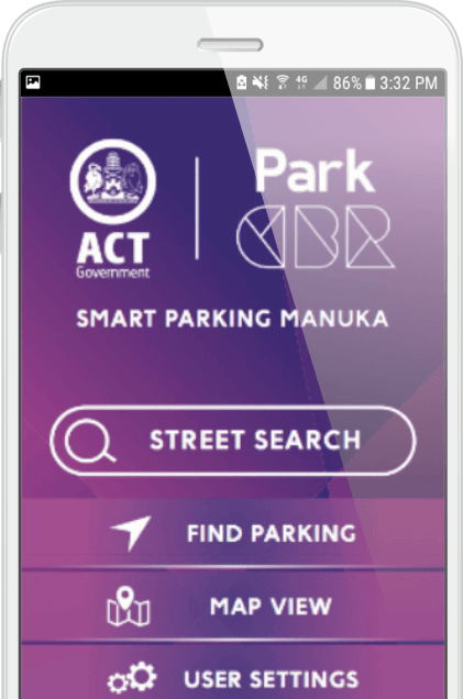 Download the ParkCBR parking app for iOS and Android here