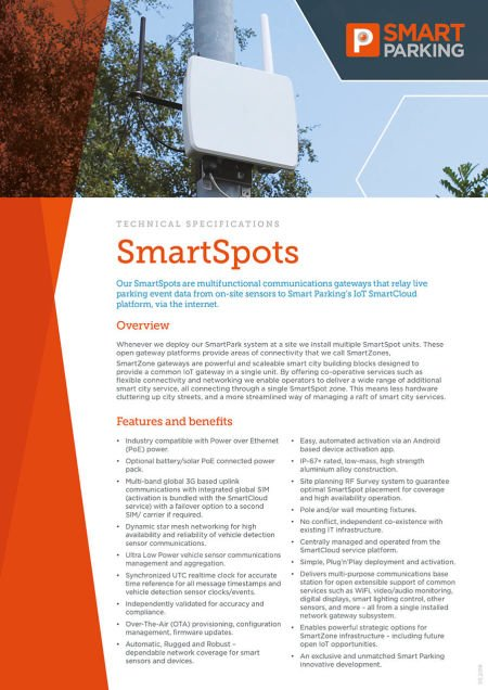 Download our SmartSpot brochure