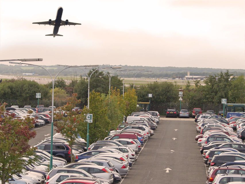 Smarter parking at airports