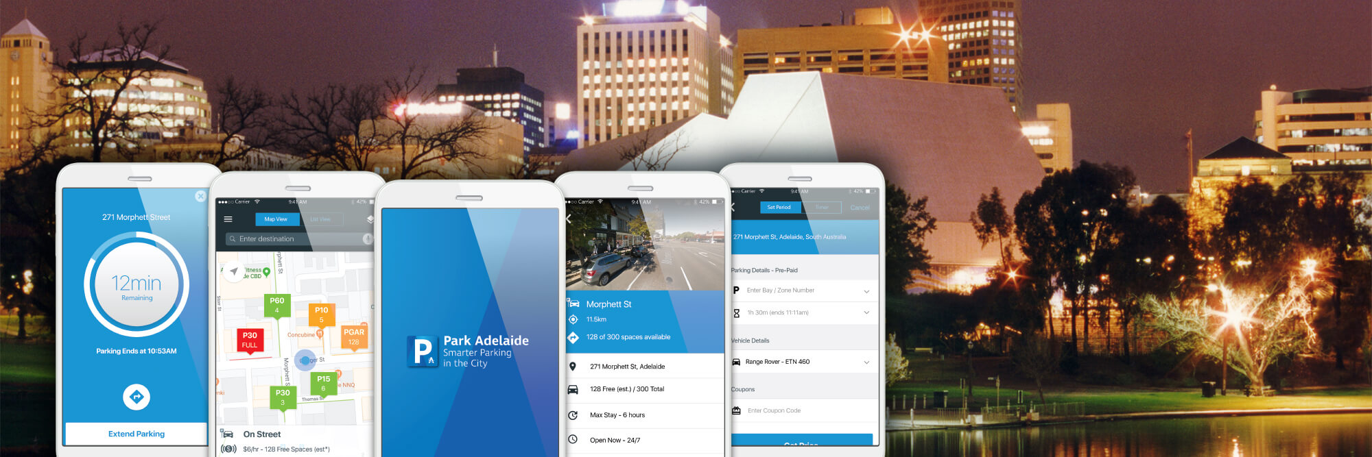 Park Adelaide, the IoT smart city parking app, has been launched